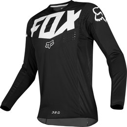 Fox Racing Mens 360 Kila Jersey Black