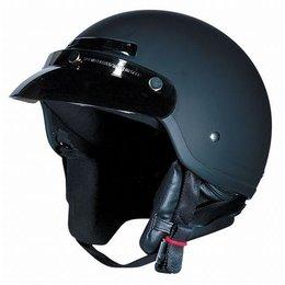 Flat Black Z1r The Drifter Half Helmet