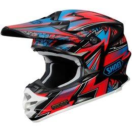 Red Shoei Vfx-w Vfxw Maelstrom Helmet