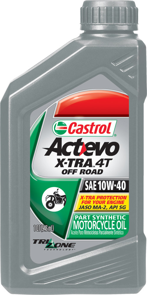 Castrol Act Evo X Tra 4t Off Road Atv Synthetic