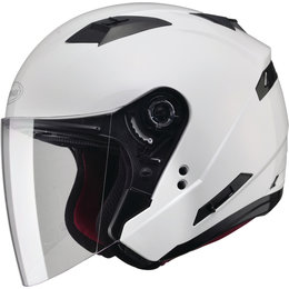 GMAX OF-77 Solids Dot Approved Open Face Helmet Off-white