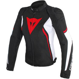 Dainese Womens Avro D2 Armored Textile Jacket Black