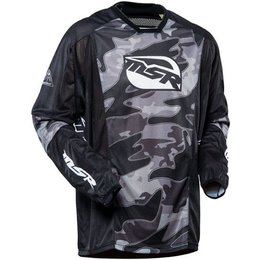 Black Camo Msr Mens Xplorer Ascent Jersey 2015
