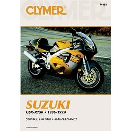 Clymer Repair Manual For Suzuki GSX-R750 GSXR-750 96-99