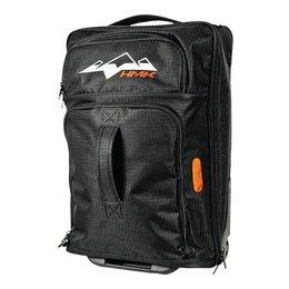 Black Hmk Flight Roller Wheeled Travel Gear Bag