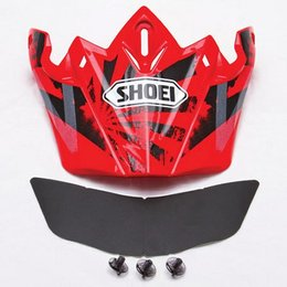 Red Shoei Replacement Visor For Vfx-w Dissent Helmet
