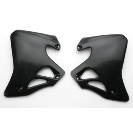 Acerbis Radiator Shrouds Black For Honda CR125 CR250 95-96