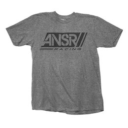 Answer Mens Slash Graphic T-Shirt Grey