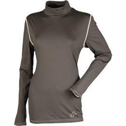 Divas Womens Diva-Tech Base Layer Shirt Black