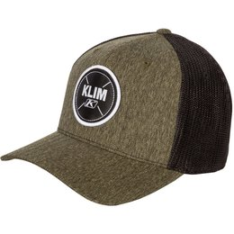 Klim Mens Converge Tri-Blend Flexfit Hat Green