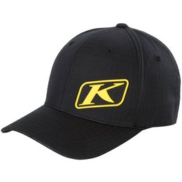 Klim Mens K Corp Lightweight Breathable Flex-Fit Hat Black