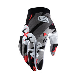 100% Mens I-Track Magemo MX Motocross Offroad Riding Gloves Black