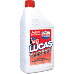 Lucas Oil Synthetic High Performance Oil 50WT 32 Oz 10765 Unpainted