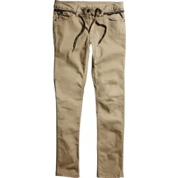 Fox Racing Mens Dagger Skinny Fit Jeans Brown