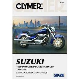 Clymer Repair Manual For Suzuki Intruder C90 C-90 98-07
