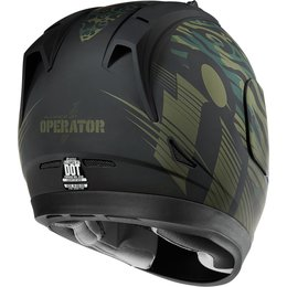Icon Alliance GT Operator Full Face Helmet Green