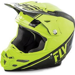 Fly Racing F2 Carbon Rewire Helmet Yellow