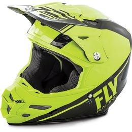 Fly Racing F2 Carbon Rewire Helmet Yellow