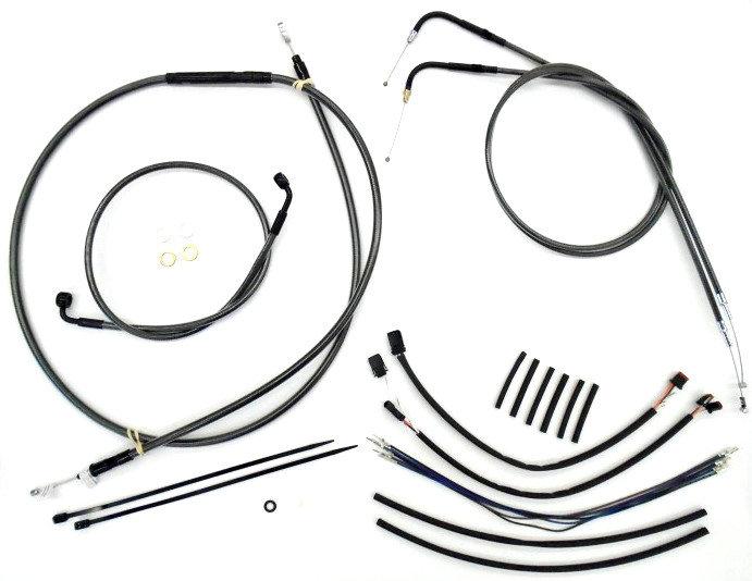 315 28 Magnum Handlebar Installation Kit Harley Softail 1074680