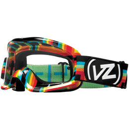 Double Rainbow Vonzipper Sizzle Mx Goggles One Size