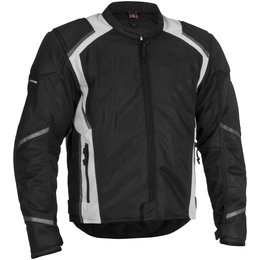 Black Firstgear Mesh Tex Textile Jacket