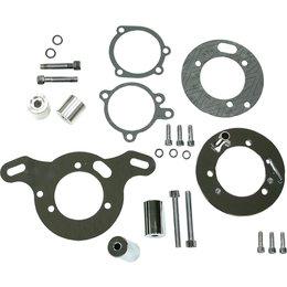 HardDrive Air Cleaner Adapter Kit For Harley-Davidson Chrome 120284 Silver