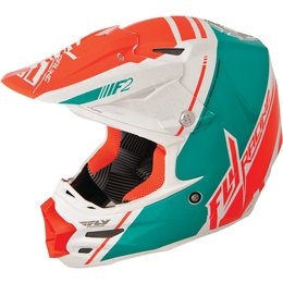 Red, White ,black Fly Racing F2 Carbon Trey Canard Replica Helmet Red White Black