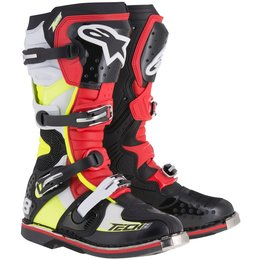 Alpinestars Mens Tech 8 RS Boots Red