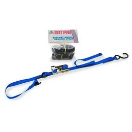 Blue Ancra Integra Rat Pack Ratchet Tiedowns 2 Pack