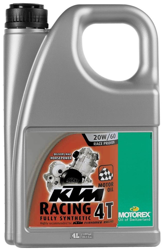 $100.34 motorex ktm racing 4t full synthetic oil for #1010980