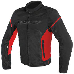 Dainese Mens Air Frame D1 Armored Textile Jacket Black