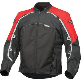 Fly Racing Mens Butane 4 Textile Jacket Red