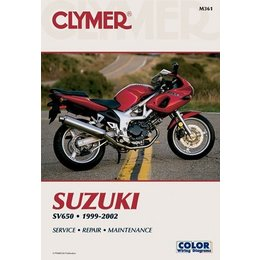 Clymer Repair Manual For Suzuki SV650 SV-650 99-02