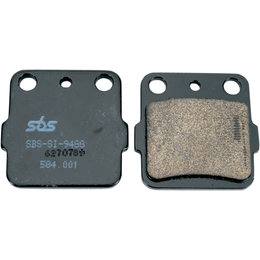 SBS ATV Off Road SI Sintered Brake Pads Single Set Honda ATC250R TRX250X 584SI Unpainted