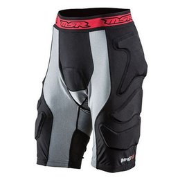 Black, Grey Msr Mens Impact Pro Padded Protection Shorts 2015 Black Grey