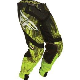 Black, Hi-vis Fly Racing Mens Short Lite Hydrogen Pants 2015 Us 28 Black Hi-vis