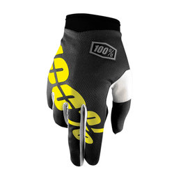 100% Youth Boys I-Track MX Motocross Offroad Riding Gloves Black
