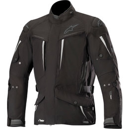 Alpinestars Mens Yaguara Drystar Tech-Air Compatible Armored Textile Jacket Black