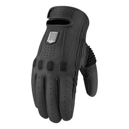 Black Icon Mens 1000 Collection Prep Leather Gloves 2014
