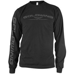 Black Honda Goldwing Long Sleeve T-shirt