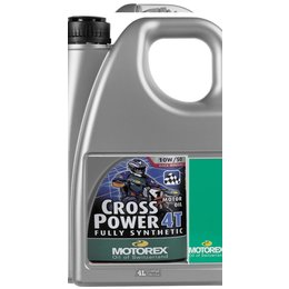 Motorex Power Synt 4T Full Synthetic Oil For 4-Stroke Engines 5W40 4 Liter