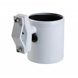 Kruzer Kaddy Kan-Do Kaddy Drink Holder 3 Mounting Options White Universal