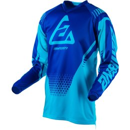 Answer Racing Youth Boys Syncron Drift Jersey Blue