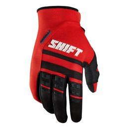 Shift Racing Mens Assault Race Gloves 2015 Red
