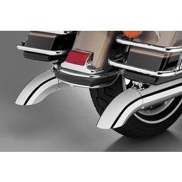 Chrome Supertrapp Kerker Exhaust End Cap Turndown Out