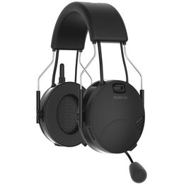 Sena Technologies Tufftalk Over-the-Head Earmuff Bluetooth System TUFFTALK-01 Black