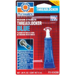 PERMATEX #242 THREADLOCKER SEALANT BLUE 6 ML