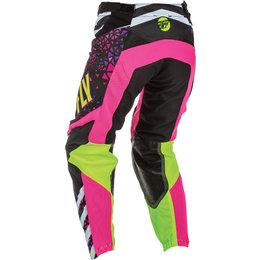 Fly Racing Youth Girls Kinetic Race MX Pants Pink
