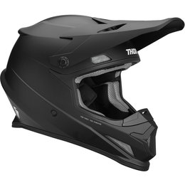 Thor Youth Sector Matte Helmet Black