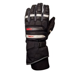 Black Knox Mens Hand Armour Techstyle Textile Gloves 2013